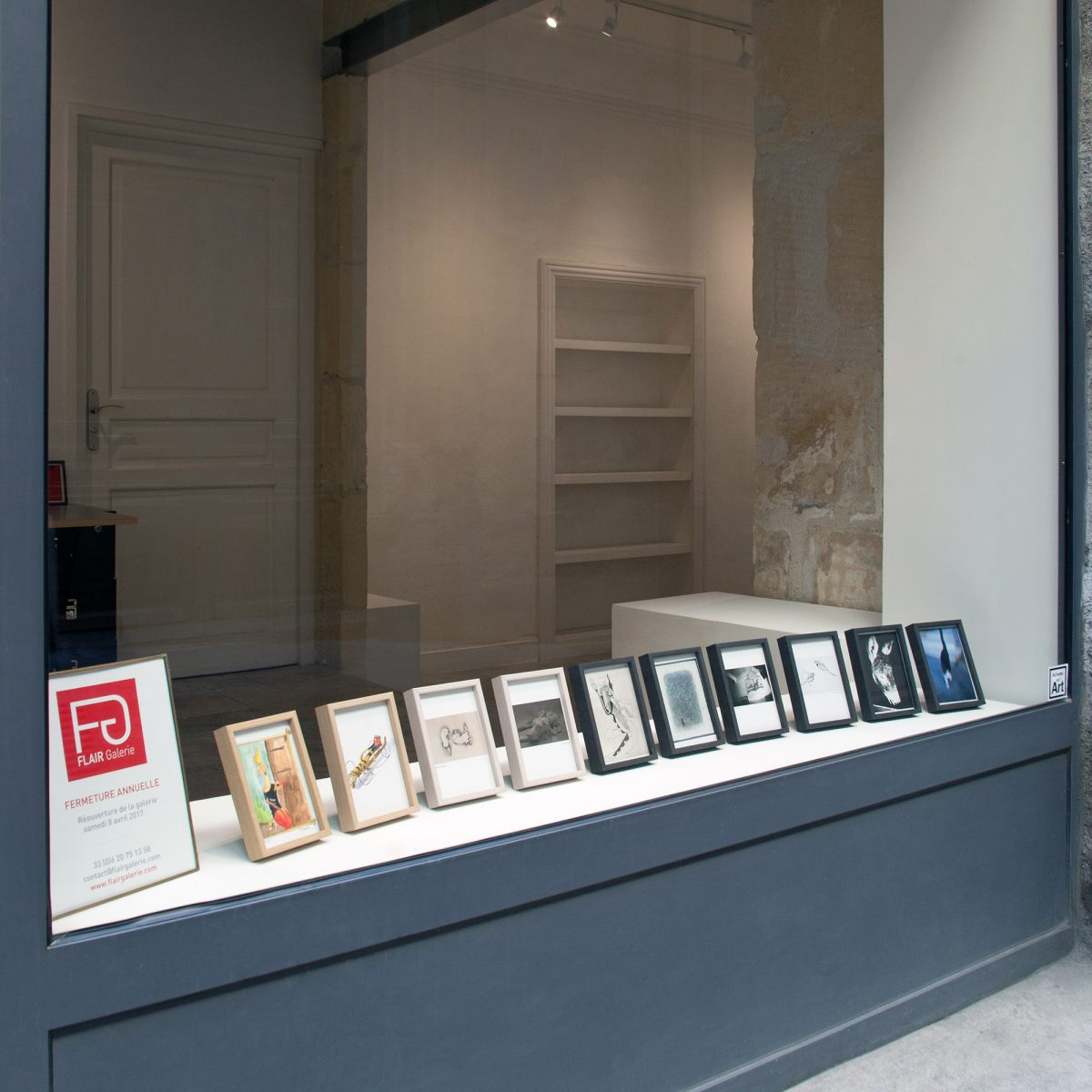 La vitrine.  - de FLAIR Galerie