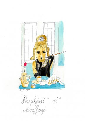 Breakfast at Sniffany's. 2016 - Lucy Marshall - FLAIR Galerie