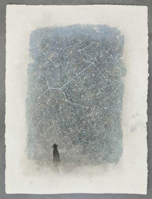 Chien devant le Chien . 216 - Lucio Fanti - FLAIR Galerie