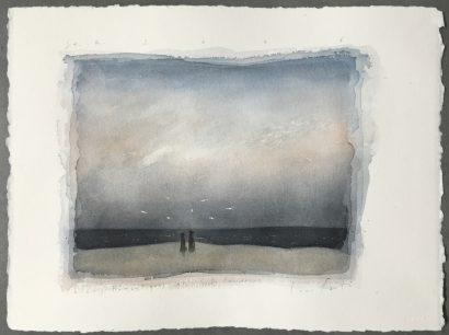 2016. Chiens romantiques , Hommage à C.D. Friedrich - Lucio Fanti - FLAIR Galerie