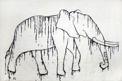 Eléphant blanc. 2015 - Caroline Desnoëttes - FLAIR Galerie