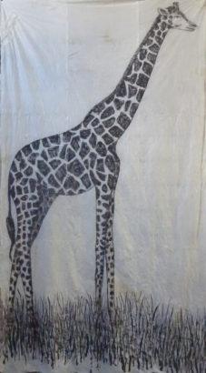 Girafe. 2015 - Caroline Desnoëttes - FLAIR Galerie
