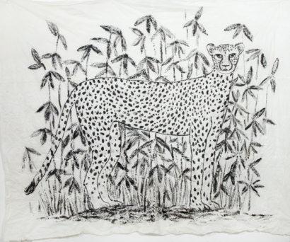 Guépard 1. 2014 - Caroline Desnoëttes - FLAIR Galerie