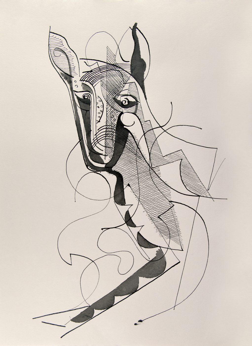 Donkey or.... 2015 - Baltasar Dürrbach - FLAIR Galerie
