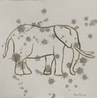 Larmes d'éléphant 1. 2017 - Caroline Desnoëttes - FLAIR Galerie