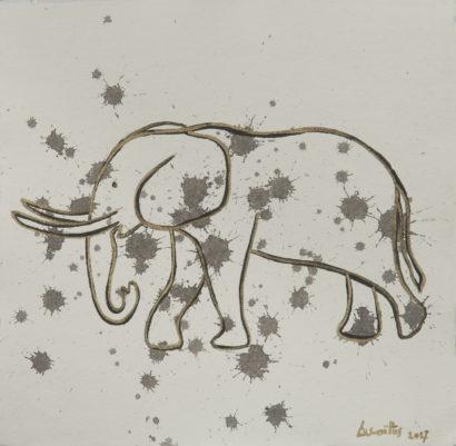 Larmes d'éléphant 2. 2017 - Caroline Desnoëttes - FLAIR Galerie