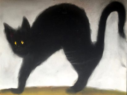 Le chat. 2014 - Anouk Grinberg - FLAIR Galerie