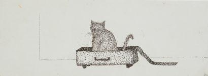 Mon chat dans la valise. 2011 - Anouk Grinberg - FLAIR Galerie