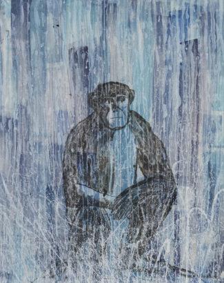 Palette singes 8. 2017 - Caroline Desnoëttes - FLAIR Galerie