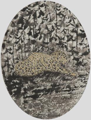 Panthère sieste. 2017 - Caroline Desnoëttes - FLAIR Galerie