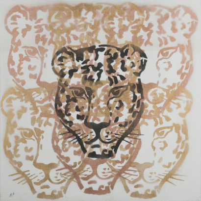Panthère spirit 1. 2017 - Caroline Desnoëttes - FLAIR Galerie