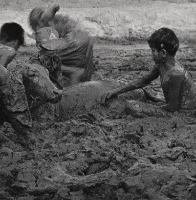 Rithy, Chéa, Kim Sour et les autres N°5, Cambodge. 2001 - Laurence Leblanc - FLAIR Galerie