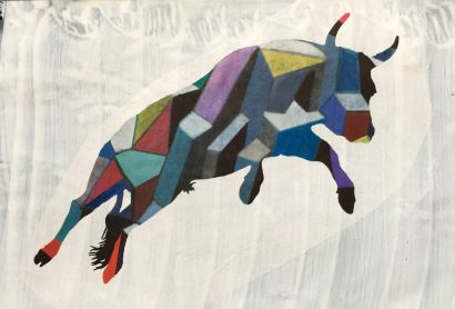 Taureau volant . 2016 - Lucio Fanti - FLAIR Galerie
