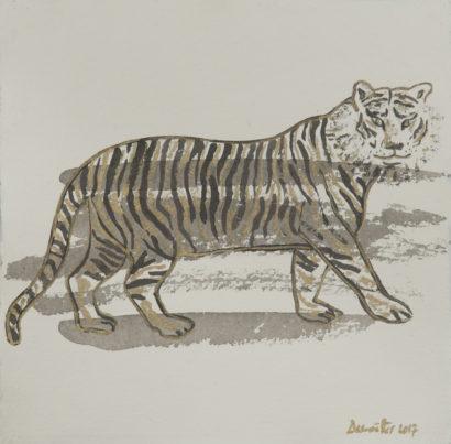 Tigre 2. 2017 - Caroline Desnoëttes - FLAIR Galerie