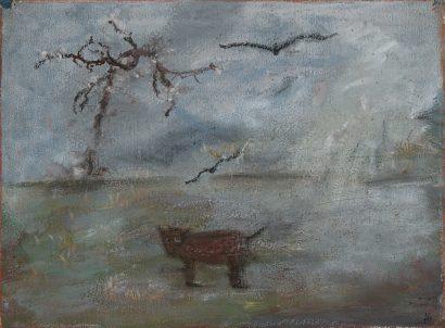 Une vache dans le brouillard. 2008 - Anouk Grinberg - FLAIR Galerie