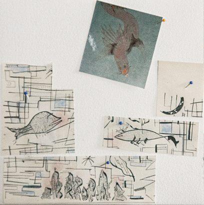 drôle d'oiseau. 2017 - Pierre Desfons - FLAIR Galerie