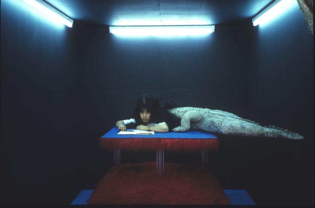 La femme croco, Paris. 2000 - Dolorès Marat