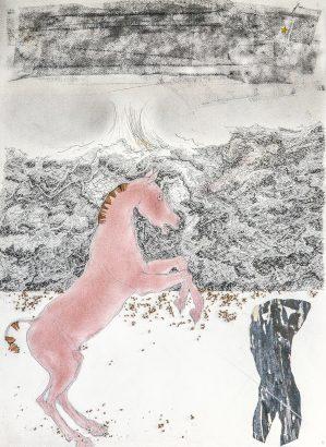 rouge pur-sang. 2005 - Pierre Desfons - FLAIR Galerie